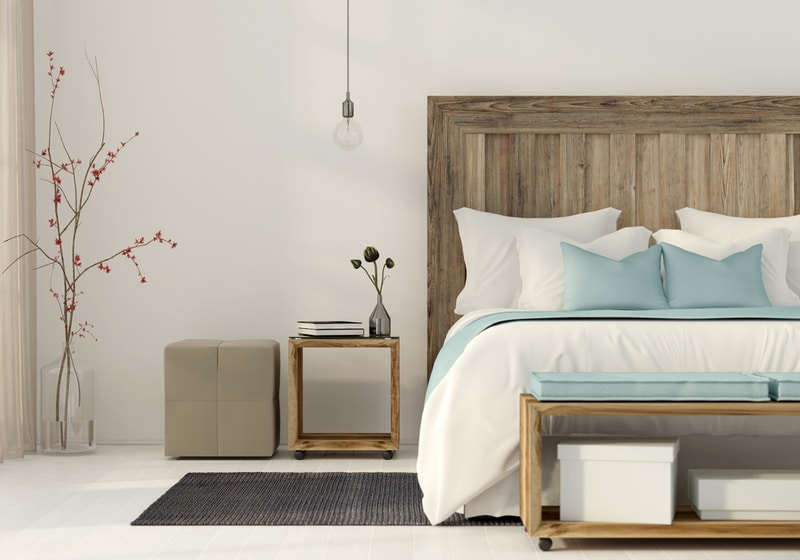 drewniane meble wsypialni