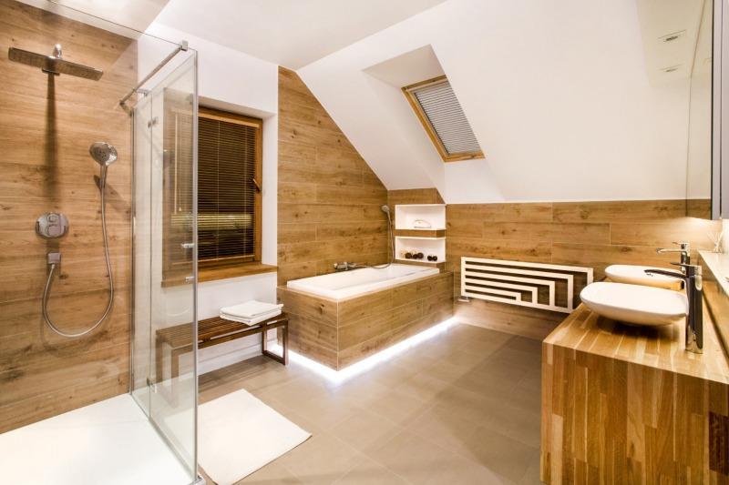 łazienka zdrewnem