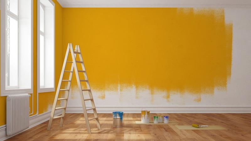 malowanie ścian wmieszkaniu