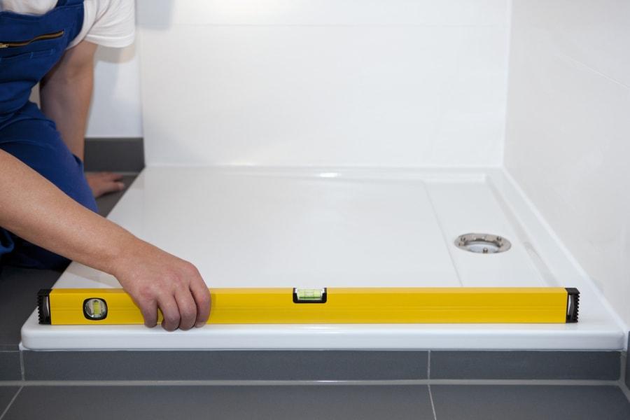 fachowy montaż brodzika prysznicowego