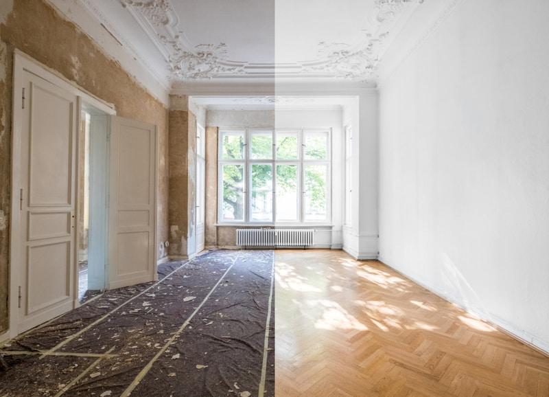 remont mieszkania - przed ipo