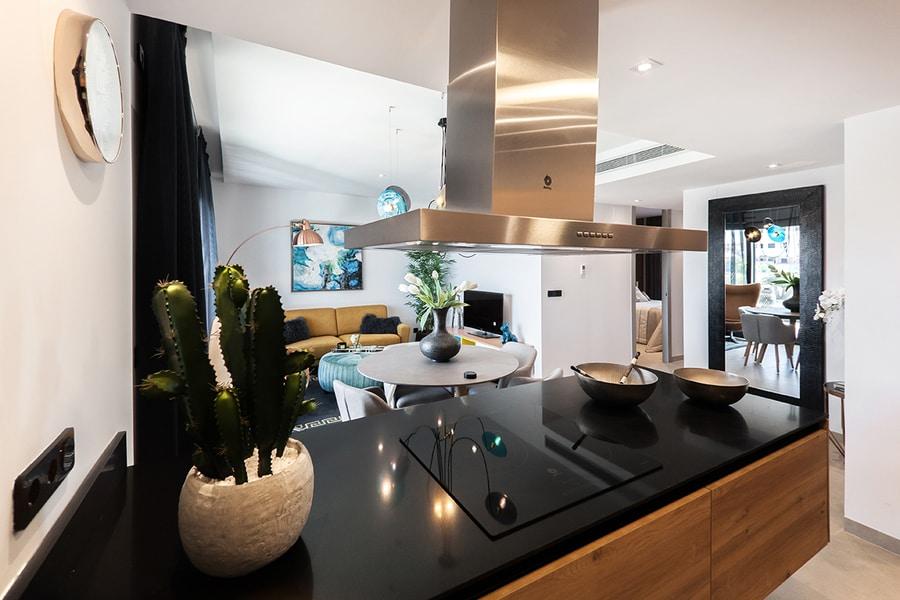 układ funkcjonalnej kuchni