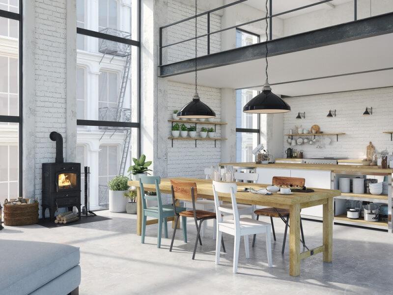 Jak wygląda mieszkanie w stylu industrialnym? - Blog Fixly.pl