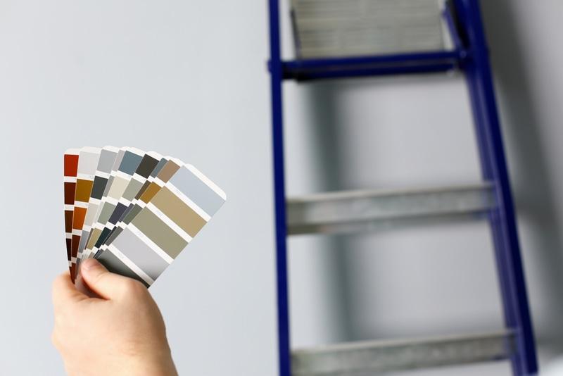 wybieranie koloru ścian
