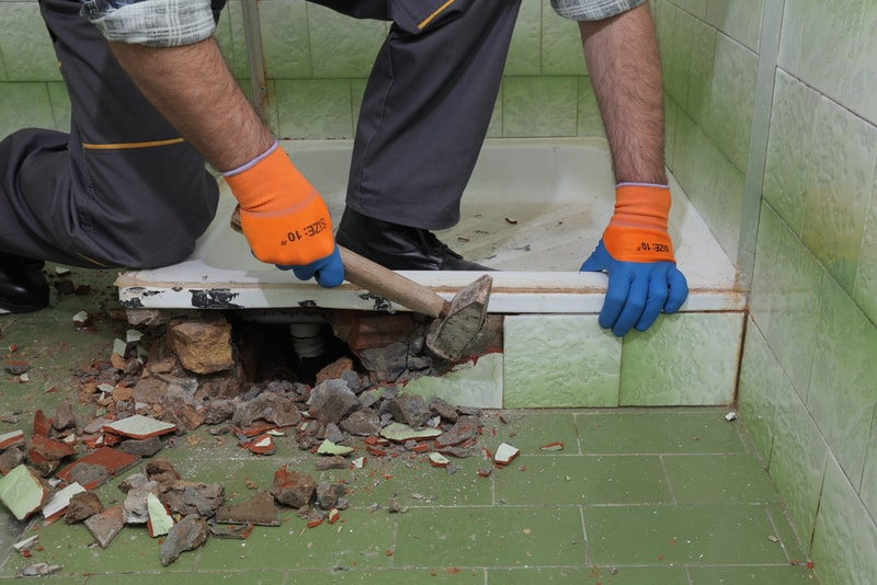remont starej łazienki