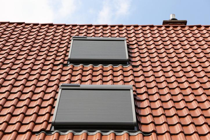 Rolety zewnętrzne naoknach dachowych