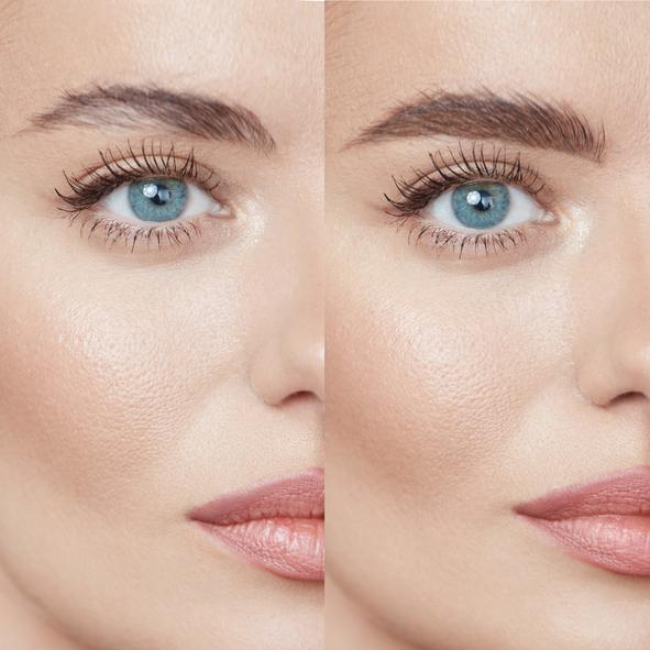 makijaż permanentny brwi - przed ipo