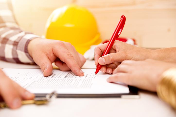 podpisywanie umowy nawykonanie usługi
