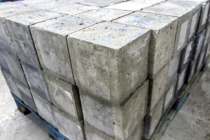 metr sześcienny kubik betonu