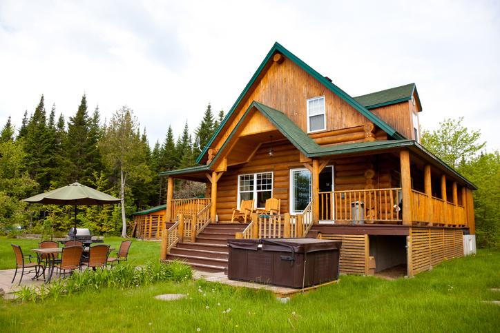 Energooszczędny dom z bali drewnianych