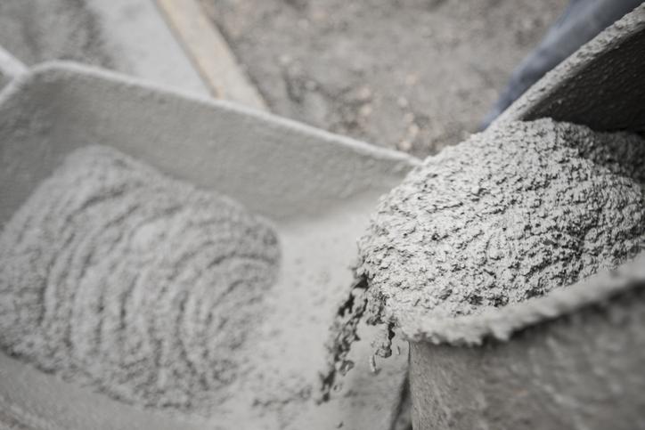 mieszanie betonu wbetoniarce
