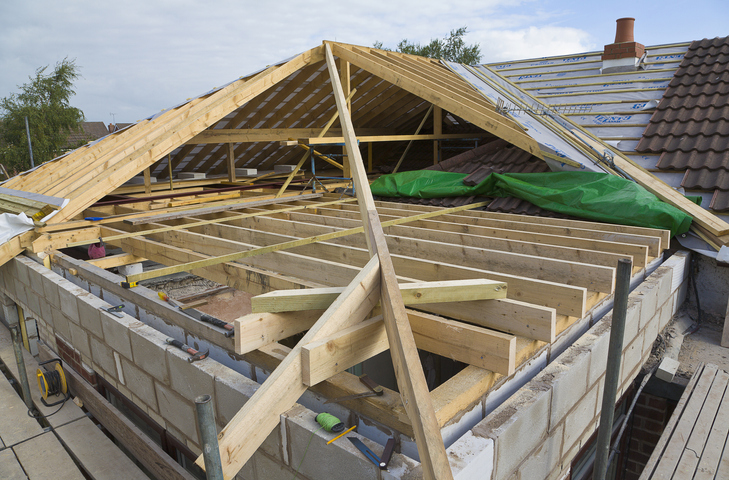 Więźba dachowa - ile kosztuje dach