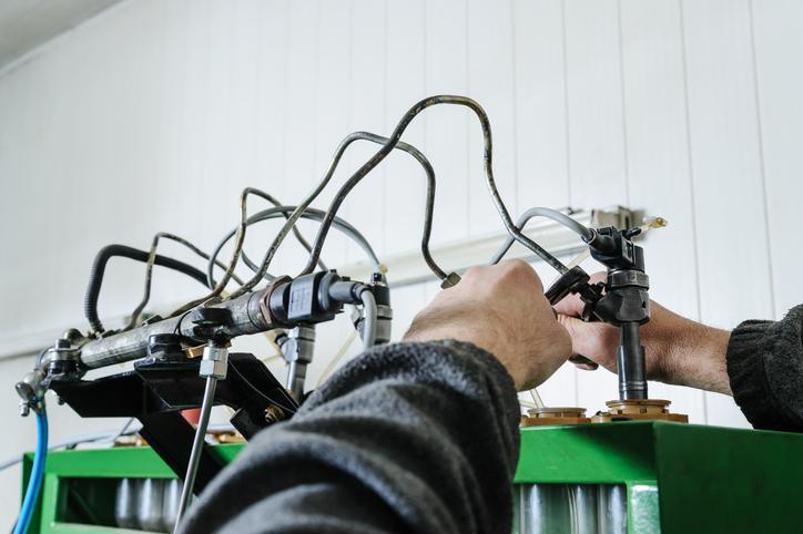 regeneracja wtryskiwaczy benzynowych wsamochodzie